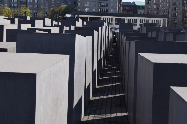 The hauntingly beautiful Holocaust Memorial.