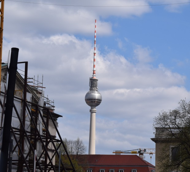 The TV tower and