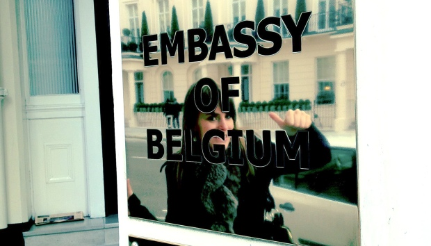 Having an embassy nearby can't hurt!